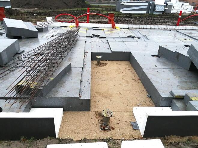 Krinner skruefundamenter med betongulv i niveaufri adgang fra Fremtidens Fundament