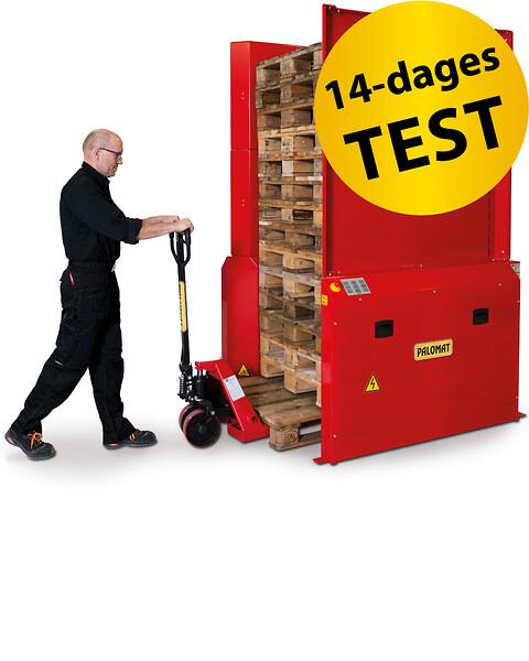 Få en PALOMAT® på prøve i 14 dage