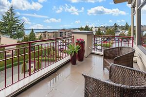 Inred balkongen med stil