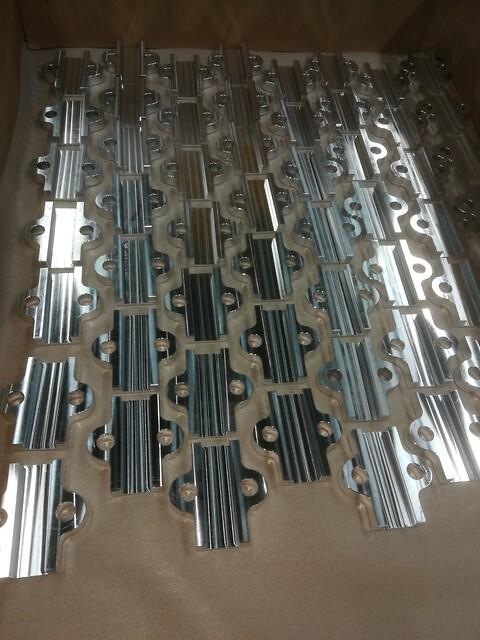 Fræsning aluminium og plast - Fræse Dreje Aluminium og plast\n\nKomponent