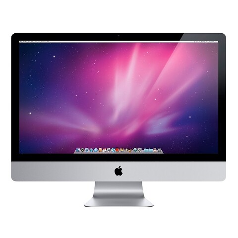 "27"" apple imac - intel i3 550 3,2GHz 1TB hdd 8GB (Mid-2010) - grade b - stationær computer"