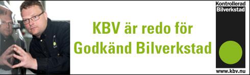 Kontrollerad Bilverkstad i Sverige AB, KBV