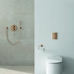 GROHE, komplet badeværelse, farver, Sensia Arena, Brusesystem, trykplade