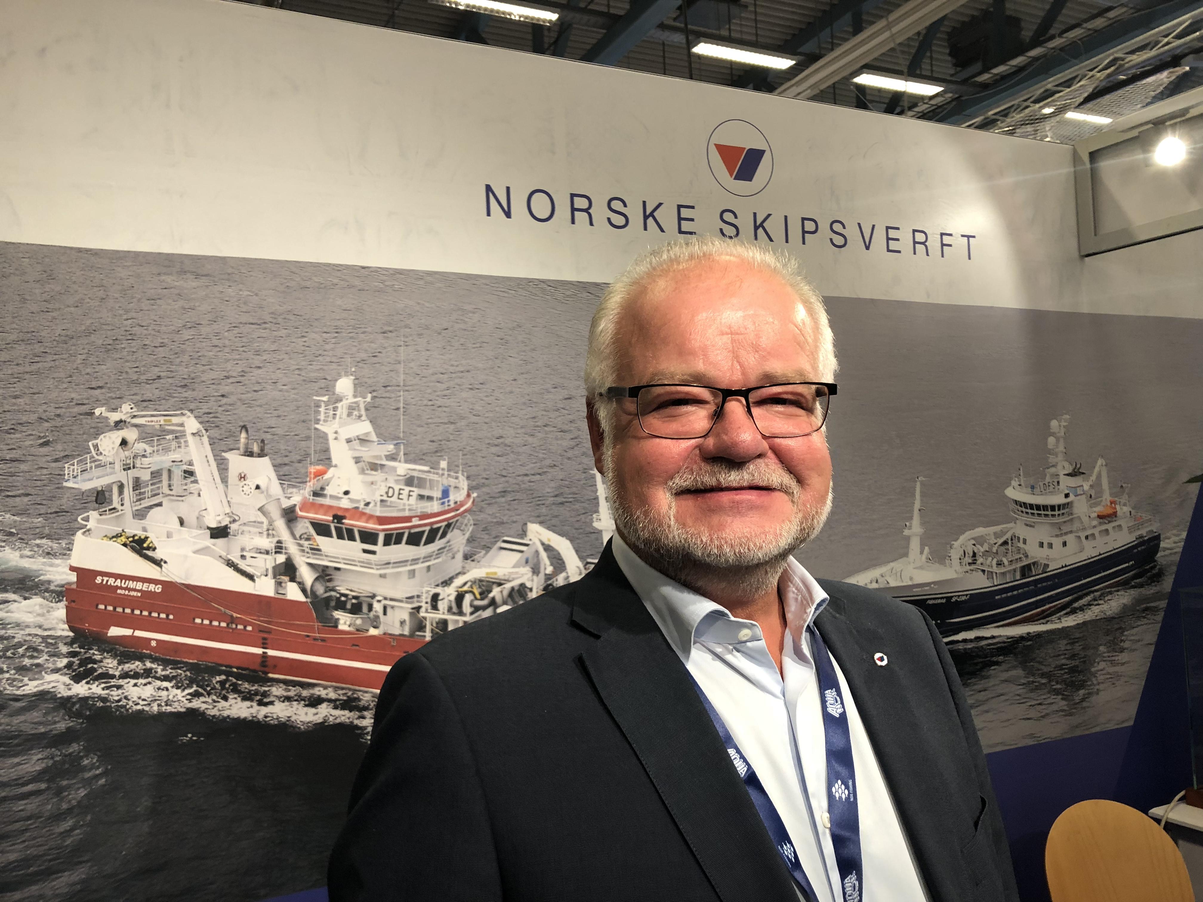 Asle Strønen, Norske Skipsverft