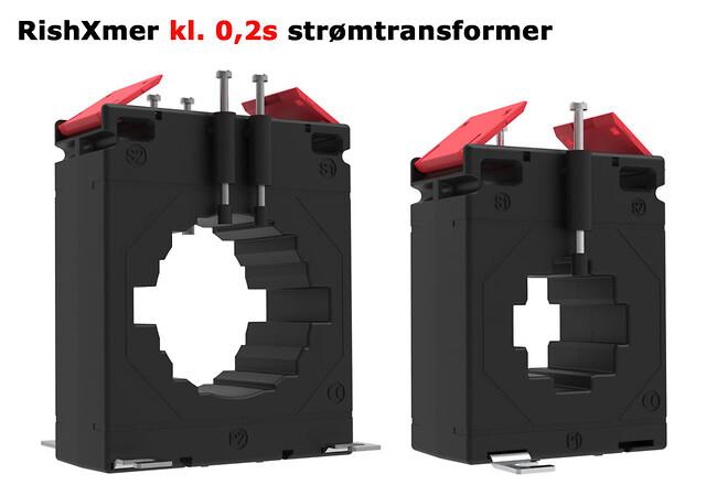 RishXmer kl. 0,2s strømtransformere