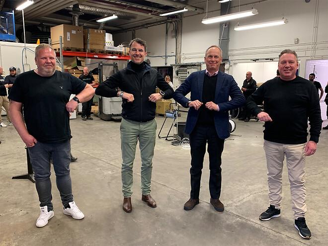 Ernströmgruppen og MuiviTech