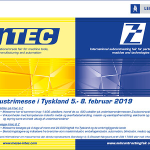 Intec - Z - Industrimesse i Tyskland - ANNONCE 20180529