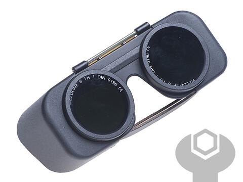 Svejsebrille Ø50 MM DIN 6 AUTOGENA