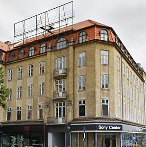 Banegårdspladsen, entreprise, Bytømreren, lejligheder