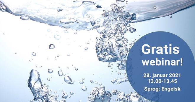 webinar, water treatment, vandbehandling, airliquide, 28 januar