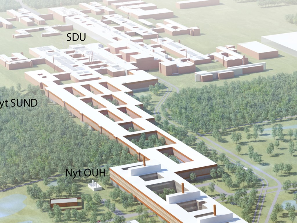 hvor ligger syddansk universitet
