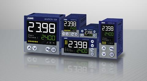 En ny generasjon av kompakte styreenheter- JUMO diraTRON - regulering, styrenhet