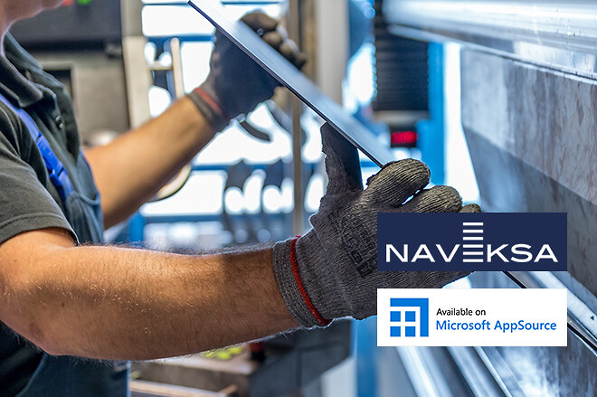NAVEKSA produktions- og lagerstyrings-apps til MS 365 BC