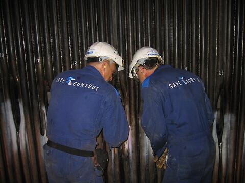 Safe Control Boiler Service - experter på inspektion av sodapannor