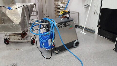 System cleaners Washing wagon null