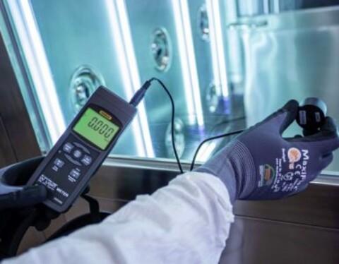 Test og måling af UV lamper - for sikkerhedens skyld