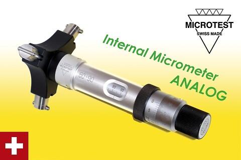 Mikrometer – Innvendig 3-punkts fra ABC-Maskin