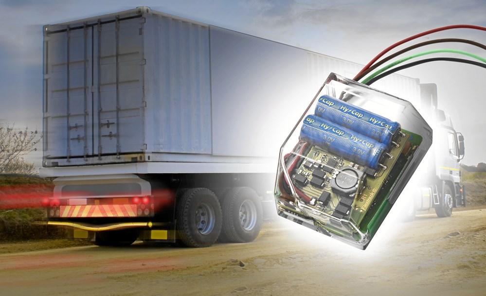 8ec5f820fdd Lommy Capture er en ny patenteret GPS-enhed, der kan generere strøm fra  bremselys, blinklys og kørelys på en trailer.