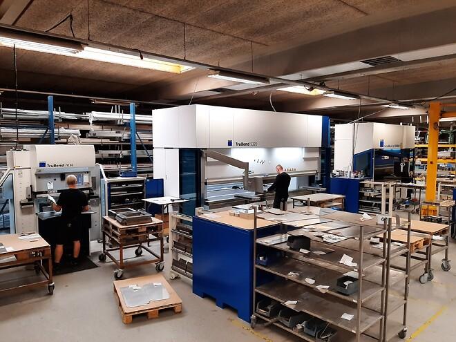 Firmaet - Claus Andersen Rustfri Stål - har udvidet maskinparken med TRUMPF maskiner