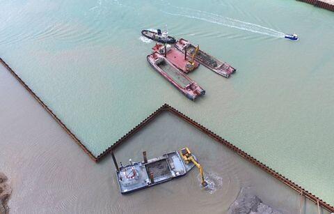 DDB Dredging tilbyder havneudvidelse