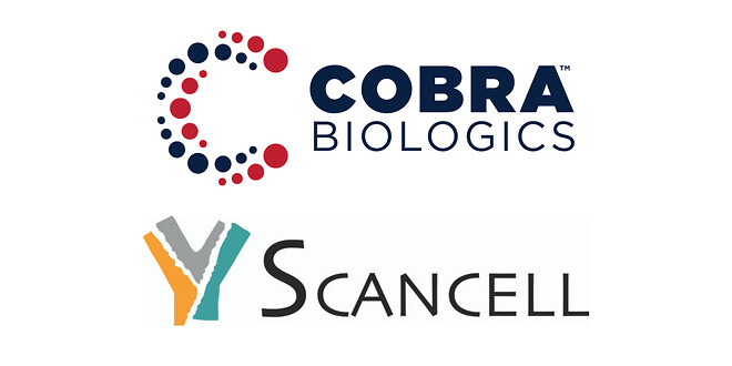 Cobra and Scancell logos
