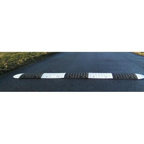 Fartbump 3,5 meter 50 mm hvid/sort