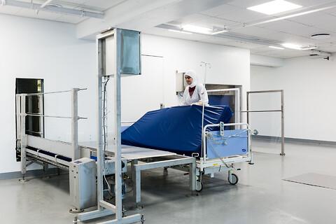 Automatisk senge- og madras desinfektion
