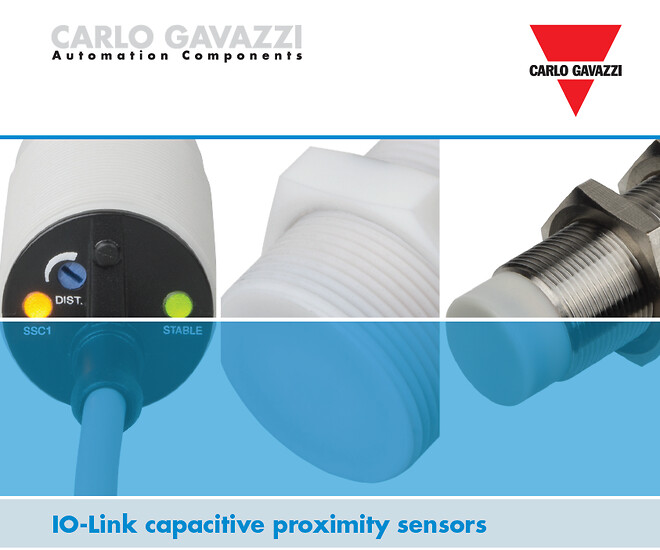 Carlo Gavazzi, kapacitiv, sensor, niveausensor, aftaster