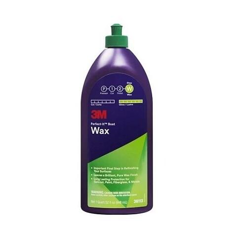 3M™ Perfect-It™ Boat Wax - polermiddel pollermiddel poleringsmiddel polermidel bådvoks voks vox vogs