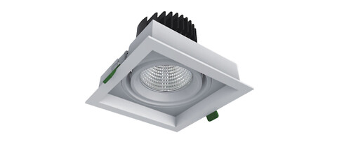 Flexibla inomhus LED-spots