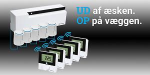 Med IP+ servicen fra Pettinaroli slipper du for at indkode det intelligente gulvvarmesystem COMFORT IP