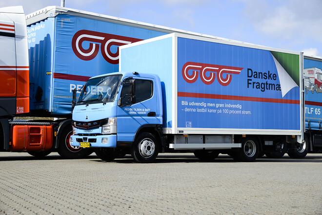 Danske Fragtmænd el-lastbil