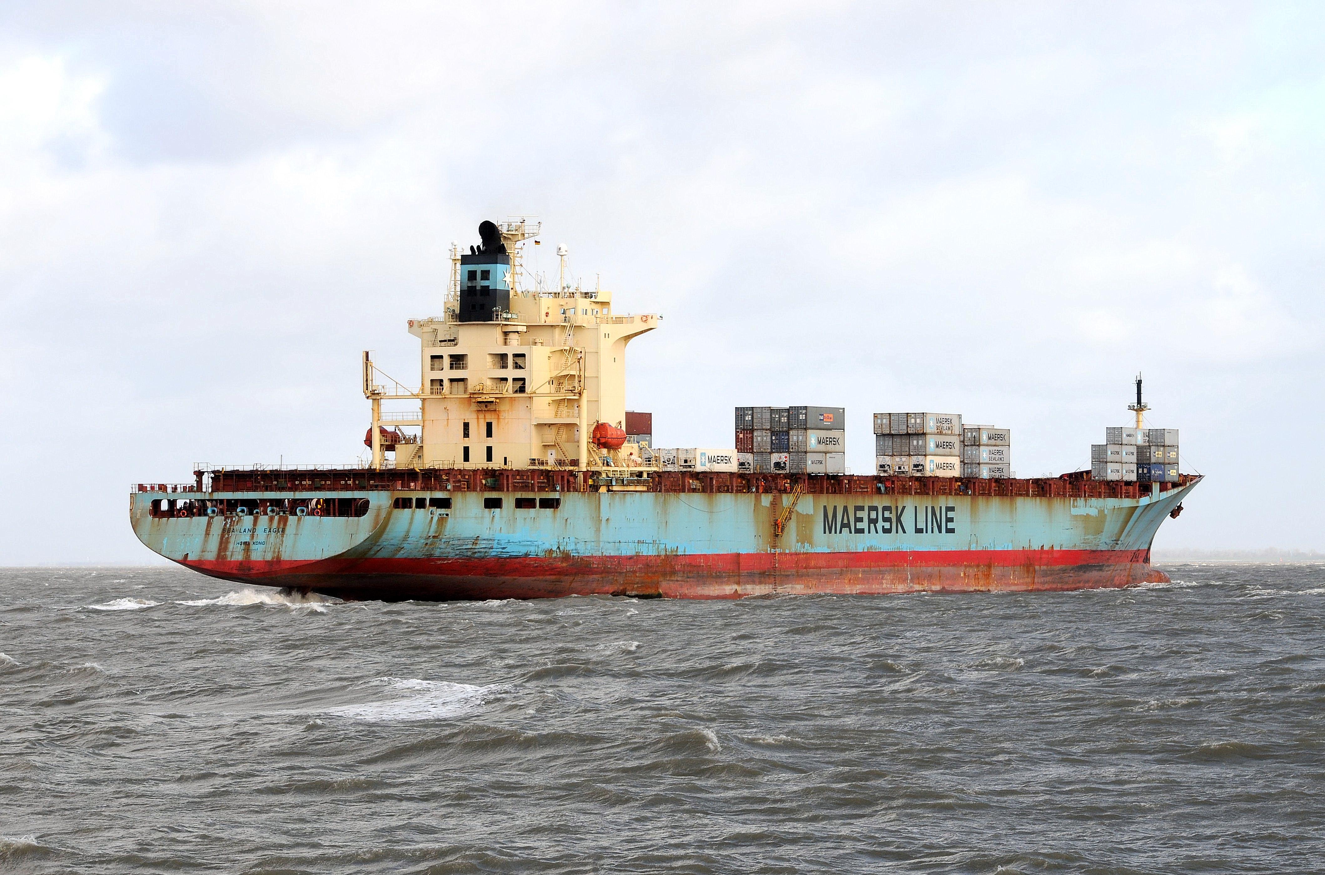 hvor mange skibe har mærsk