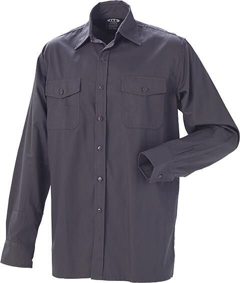 Outlet - arbejdsskjorte, koksgrå - 5120