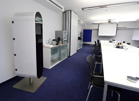 Högklassig luftrenare för hotell, konferenser, restauranger och gym - Luftrenare med kraftig motor och högklassiga filter för utrymme upp till 100m2