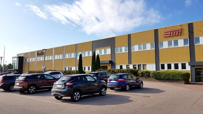 SUN Maskin & Service huvudkontor i Karlstad