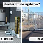 Sikring til transport/logistik eller industri?