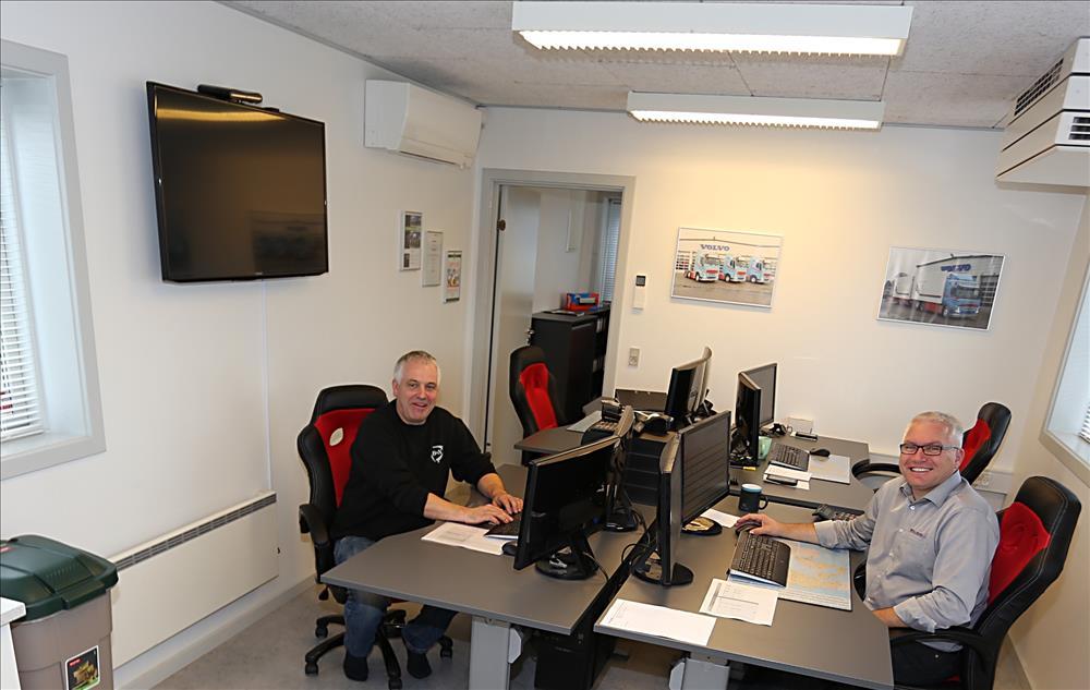 Bruun & Nielsen bor i en skurvogn - Transportmagasinet