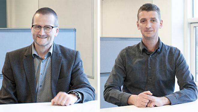 Michael Hjorth Rasmussen og René Tolderlund Rasmussen er nye medarbejdere i FRECON