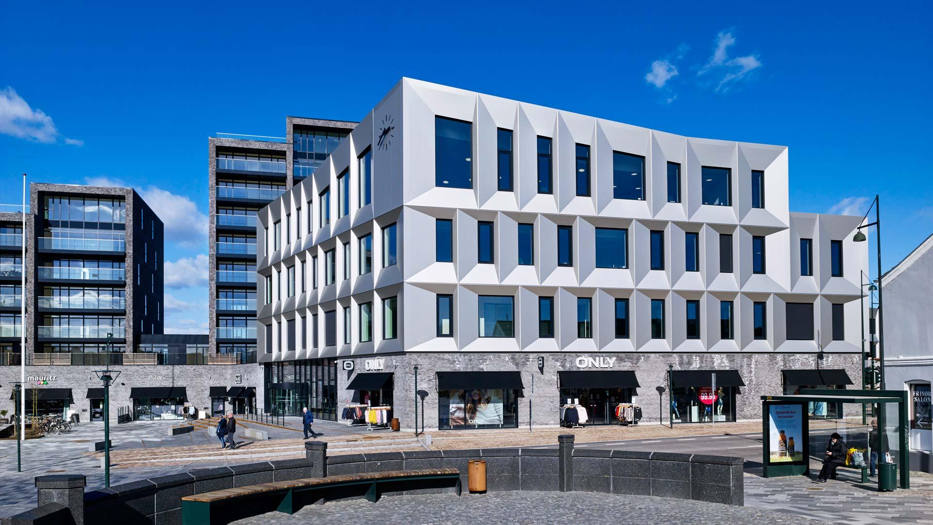 52f2790f08ab Rådhus-byggeri får Danmarks første grønne diamant - Building Supply DK