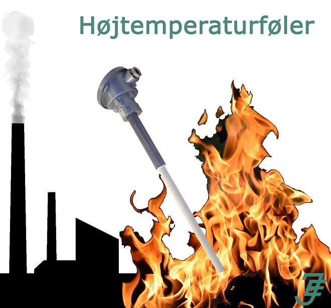 Højtemperaturføler fra Jensen Electric