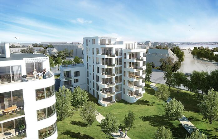30 boliger på markant Silkeborg-grund - Building Supply DK