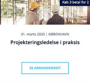 Projekteringsledelse i praksis - kursus - Nohrcon