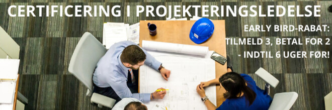 Certificering i projekteringsledelse - Nohrcon