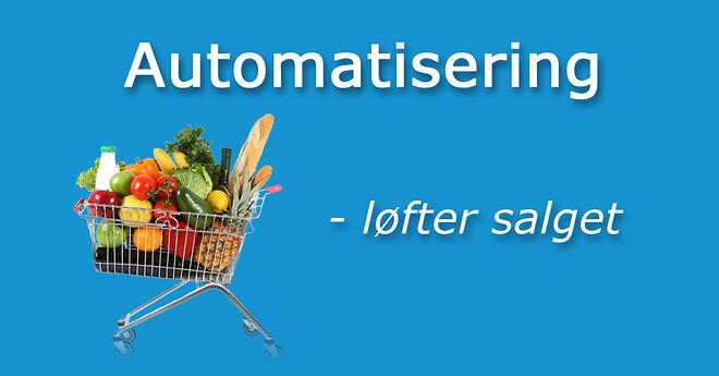 Automatisering hyldepleje