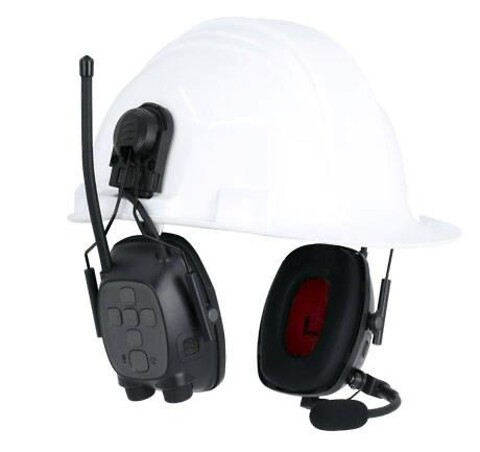 Sync wireless electo hjelm