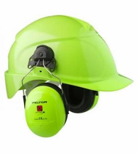 Optime 3 hjelm hiviz