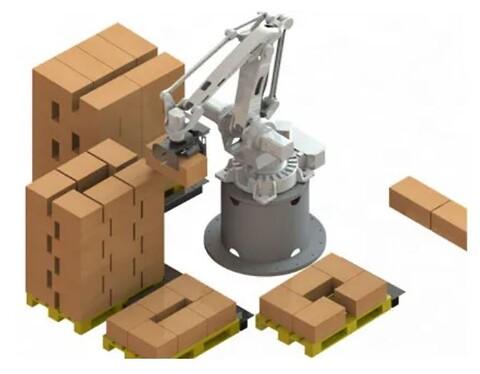 RoboPall™ Palletering leveres av RobotNorge