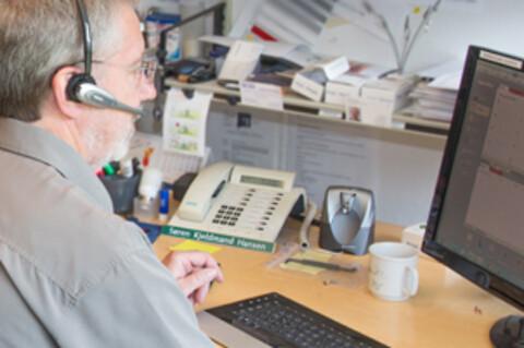 Fleksibel og kompetent serviceafdeling