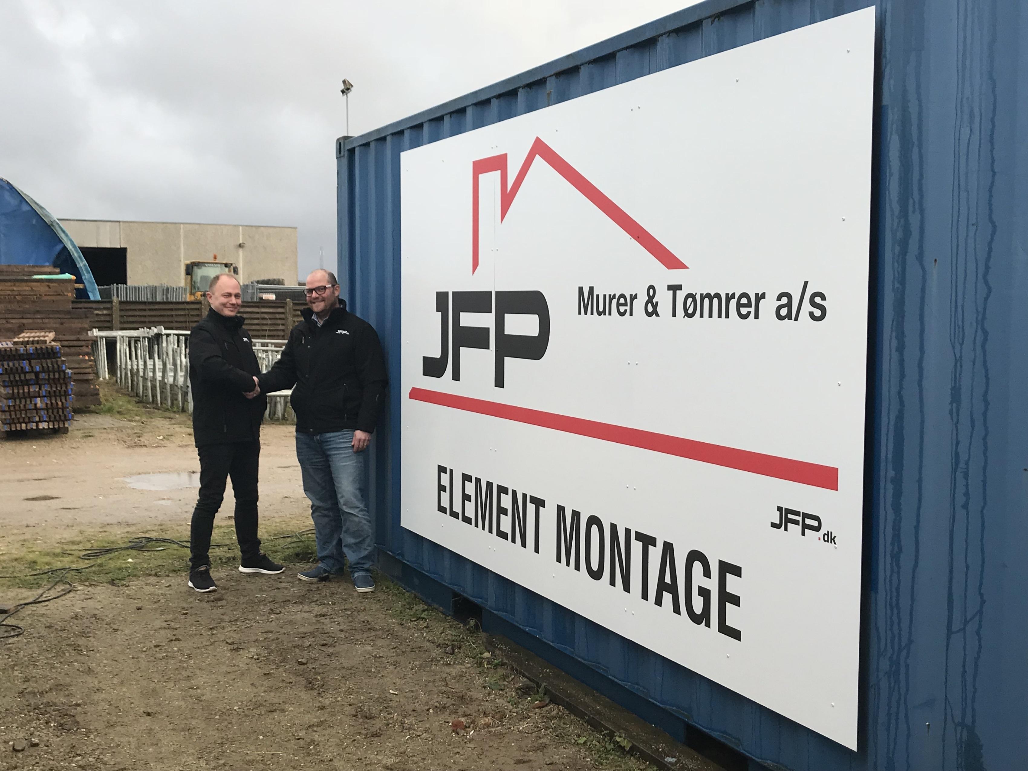 363c19a89 JFP Murer & Tømrer starter montageafdeling - Building Supply DK